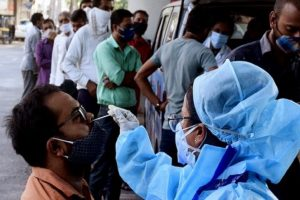 India Reports 41,506 New COVID-19 Cases, 895 Fatalities in Past 24 Hours