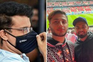 Sourav Ganguly Defends Rishabh Pant for Not Wearing a Mask During Euro 2020, Says 'Rules Have Changed'