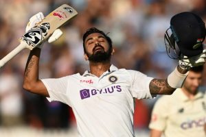IND vs ENG 2nd Test 2021 Day 1 Stat Highlights: KL Rahul's Hits Sixth Hundred To Put Visitors on Top at Lord's Cricket Ground