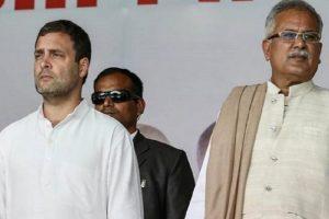 Chhattisgarh Congress Crisis: CM Bhupesh Baghel Meets Rahul Gandhi, Status Quo in State