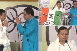 BJP MLA Tanmoy Ghosh Joins Trinamool Congress, Accuses Bharatiya Janata Party of 'Vindictive Politics'