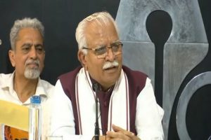 Manohar Lal Khattar Demands Punjab CM Amarinder Singh's Resignation Over Farmer Agitation