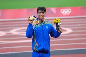 Neeraj Chopra, Olympic Gold Medallist, Rises to Number 2 in World Rankings