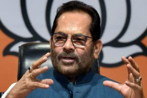 Mukhtar Abbas Naqvi Targets Congress and Opposition Parties Over Ruckus in Parliament During Monsoon Session 2021