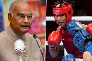 President Ram Nath Kovind Congratulates Boxer Lovlina Borgohain on Winning Bronze Medal in Tokyo Olympics 2020