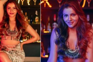 Rubina Dilaik Shares Sizzling Pics in Golden Satin Crop Top And Mini Skirt; Says 'Hello August' In Style