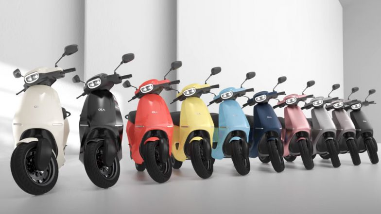 Ola Electric Scooter Launched in India Starting at Rs 99,999; Check Features, Variants & Specifications