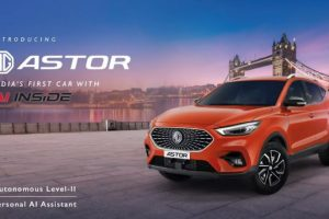 MG Astor Mid-Size SUV Officially Revealed, India Launch This Festive Season