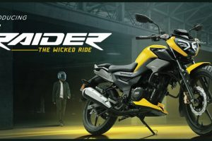 TVS Raider 125cc Motorcycle Launched in India Starting at Rs 77,500; Check Features & Specifications Here