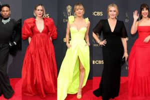 Emmys 2021 Best-Dressed List: From Kate Winslet, Sarah Paulson, Mandy Moore & More Celebs Bring Their Fashion A-Game to TV's Biggest Night