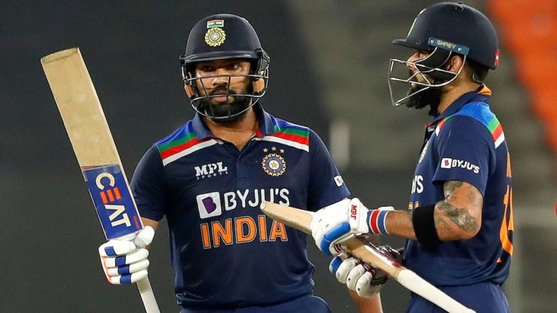 Rohit Sharma to Replace Virat Kohli for Limited-Overs Captain After T20 World Cup 2021? BCCI Treasurer Arun Dhumal Rubbishes Reports of Indian Captain