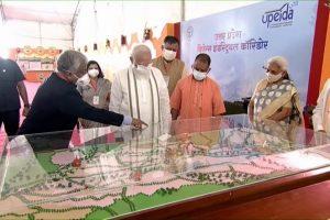 Uttar Pradesh: PM Narendra Modi Lays Foundation Stone of Raja Mahendra Pratap Singh State University in Aligarh (Watch Video)