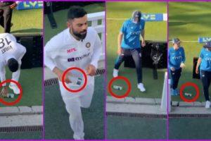 Swachh England Abhiyan! Viral Video Shows Virat Kohli Picking a Water Bottle While Joe Root Walks Past it