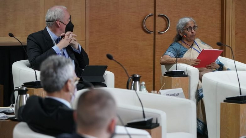 Nirmala Sitharaman Attends 4th G20 Finance Ministers and Central Bank Governors Meeting in Washington