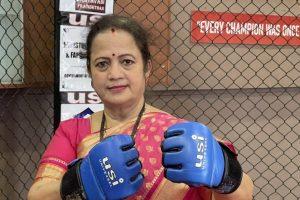 Mumbai Mayor Kishori Pednekar Shares Photo of Her Wearing Boxing Gloves, Quotes Muhammad Ali (See Pic)
