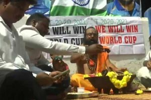India vs Pakistan, T20 World Cup 2021: Indian Cricket Team Fans Perform 'havan' Ahead of the Mouth-Watering Tie