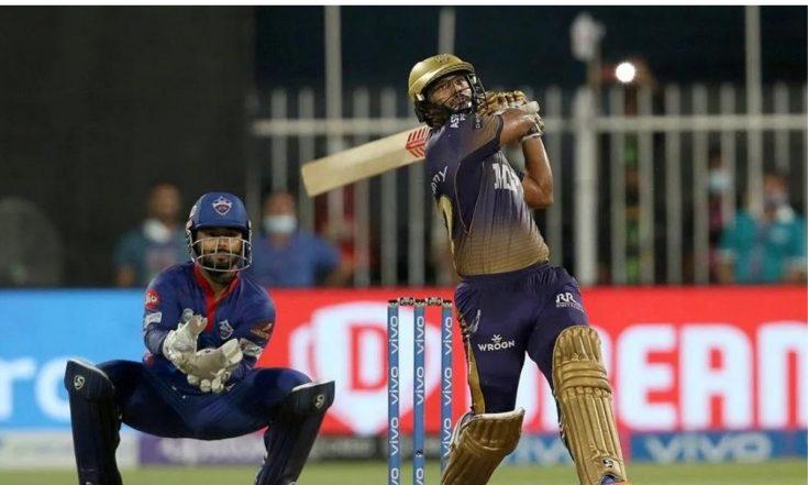 DC vs KKR, IPL 2021 Stat Highlights: Rahul Tripathi's Six Takes Kolkata Knight Riders to Finals