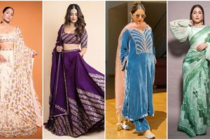 Karwa Chauth 2021: Hina Khan's Style Staples To Amp Up Your Wardrobe This Festive Season (View Pics)