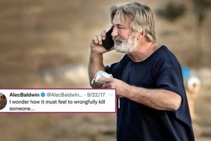 Alec Baldwin Accidentally Kills Rust Cinematographer While Filming; Actor's 2017 Tweet That Talks about 'Wrongfully Killing Someone' Goes Viral